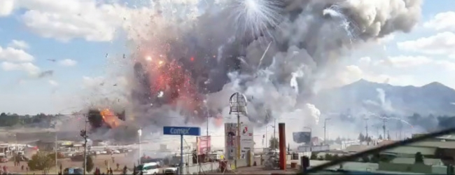 More than 50 killed and injured in Mexico fireworks blast