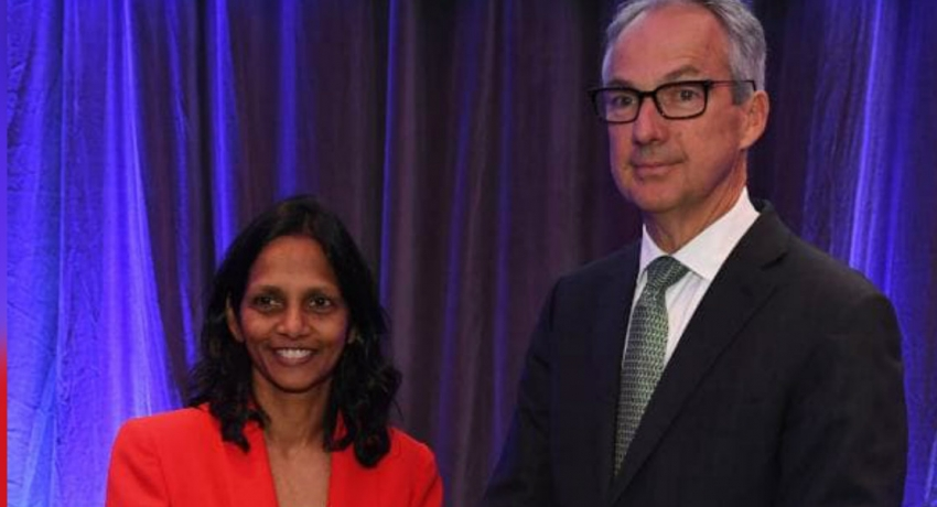 Sri Lankan national becomes first female CEO of Macquarie Group of Australia
