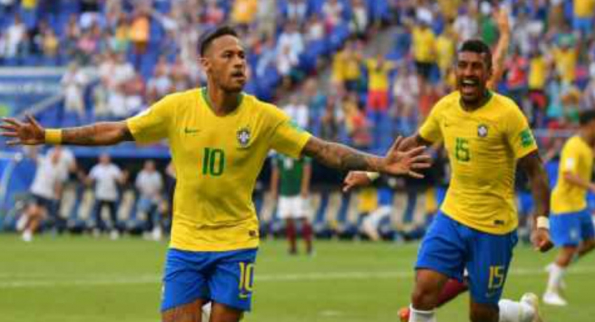 Brazil beats Mexico to reach quarter finals