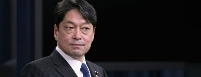 Japanese Defense Minister to arrive in SL today