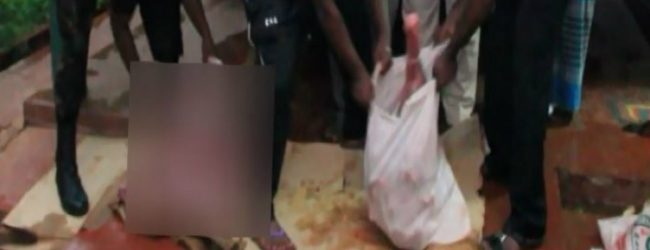 48kg of venison seized at a hotel in Anuradhpura