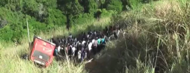 1 dead, 37 injured in Badulla bus crash