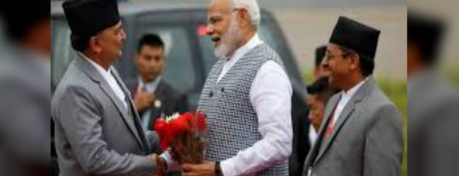 India's Modi arrives in Nepal for BIMSTEC Summit