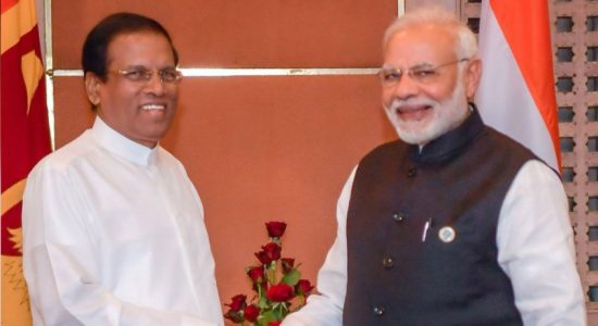 President meets PM Modi on BIMSTEC sidelines