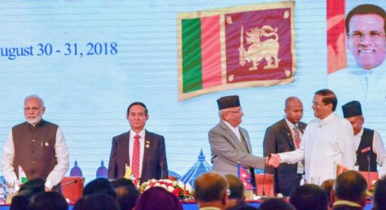 President urges BIMSTEC Leaders to take steps against the drug menace