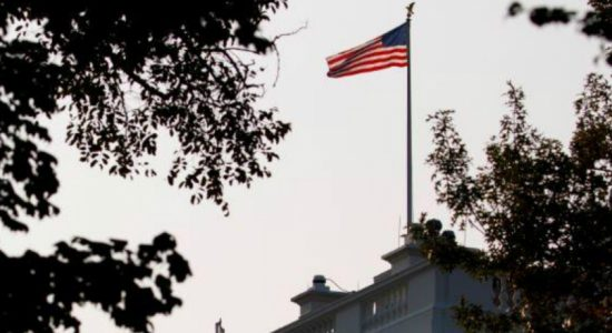 Flags at White House return to full staff as U.S. honors McCain