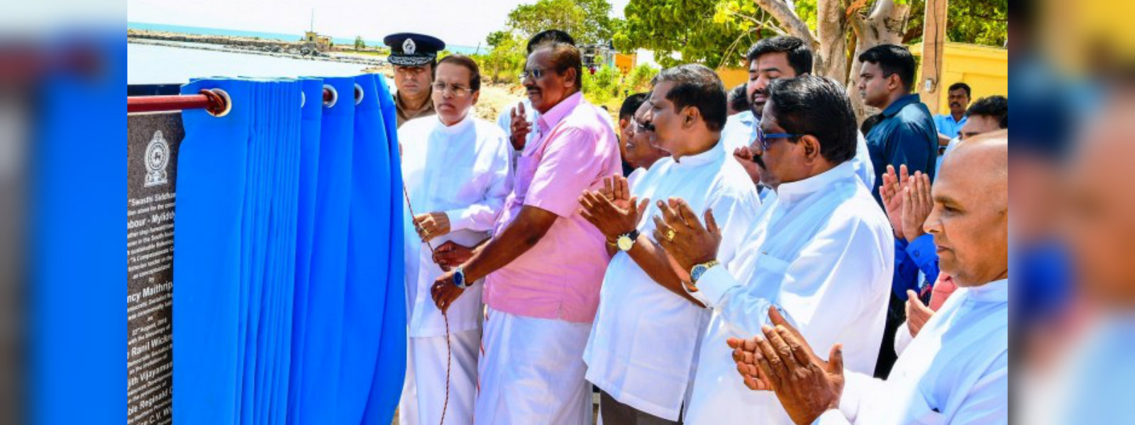 President Sirisena promises to free lands held by the Army in the North