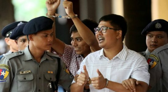 Myanmar judge jail Reuters reporters for 7 years