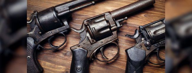 47 year old arrested with foreign firearm