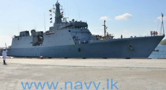 3 Indian Navy ships arrive at Trincomalee port