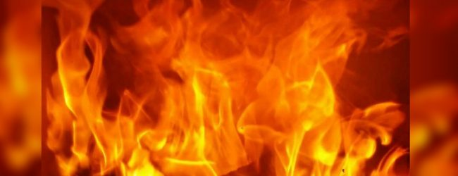 Fire erupts in a two-story house in Col. 2