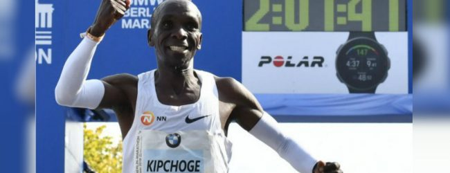 Kenya's Kipchoge sets new marathon world record in Berlin