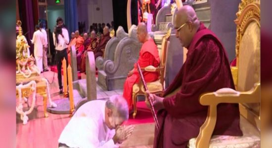 Chief Prelate of the Sri Sumana Nikaya appointed