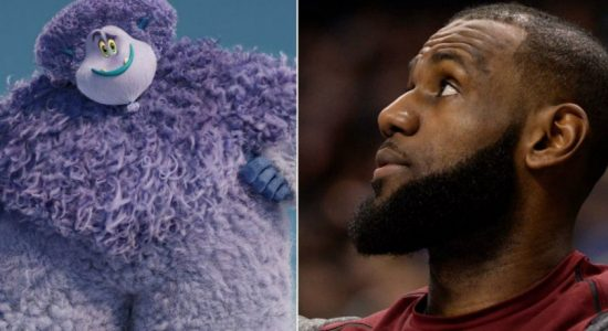 LeBron James makes animated appearance at 'Smallfoot'