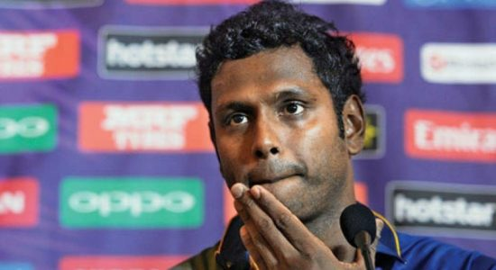 Was Angelo Mathews a scapegoat?