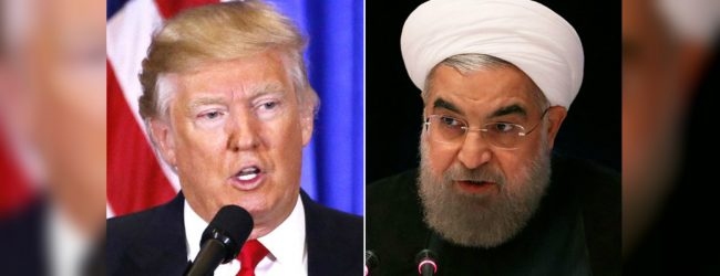 Trump and Rouhani clashes sharply at UN General Assembly