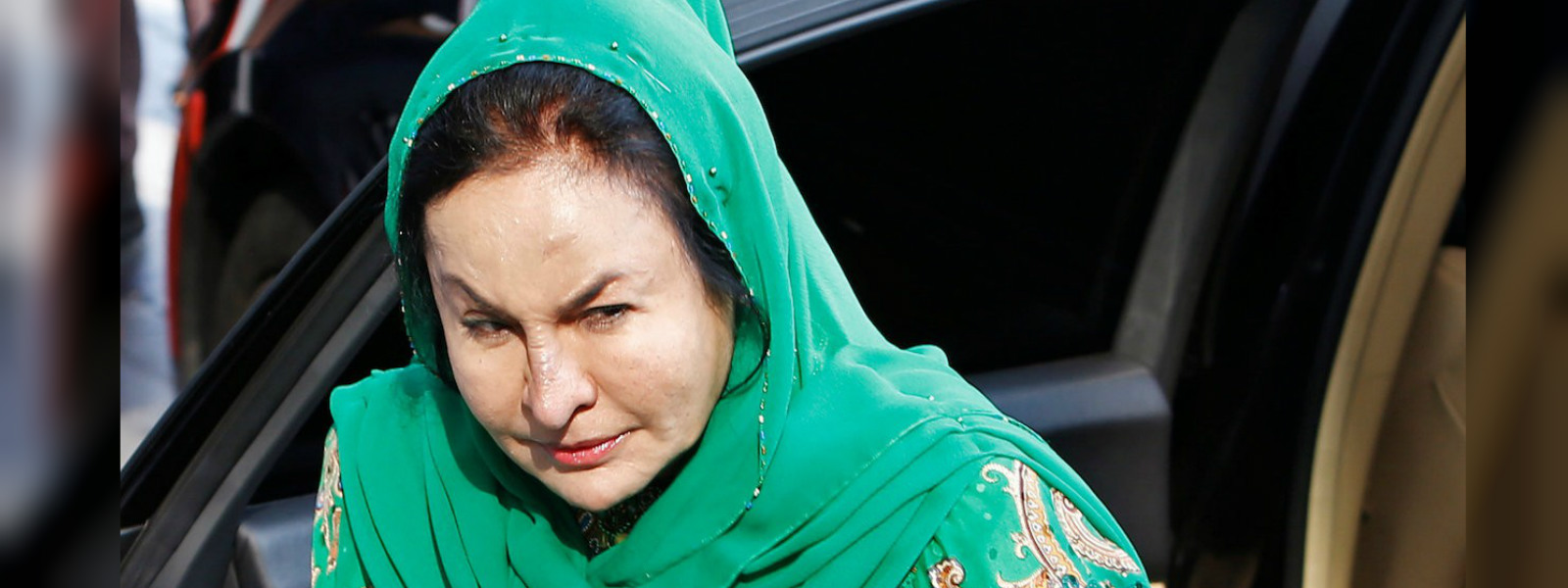 Wife of former Malaysian PM Najib Razak arrives for questioning at anti-graft agency