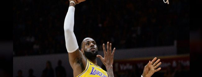LeBron James makes his Lakers preseason debut