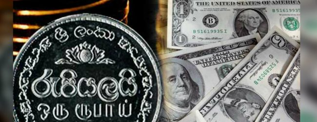 The Sri Lankan Rupee continues to depreciate