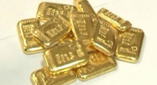 Three gold smugglers arrested at BIA