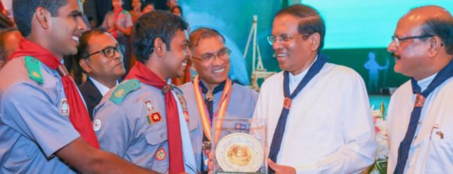 1195 students receive the President's Scout Award