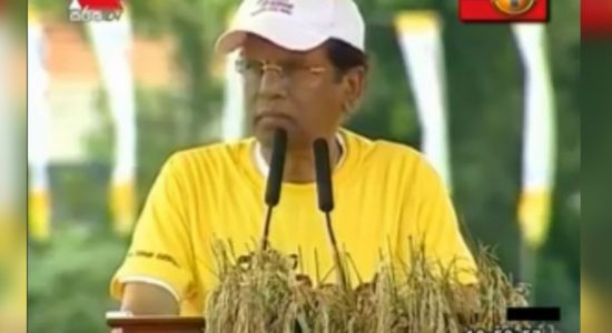 A cultivation based economic plan suggested by President Sirisena