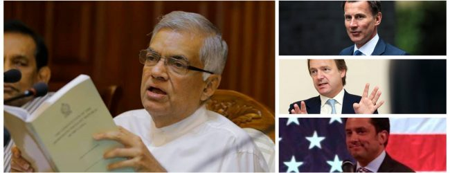 United Kingdom recognize Ranil as SL's Prime Minister