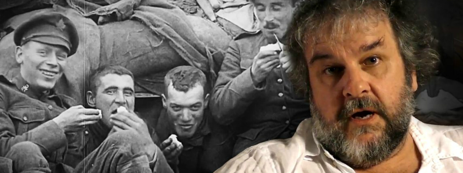 "Peter Jackson, from ""Lord of the Rings"" to the trenches of World War One"