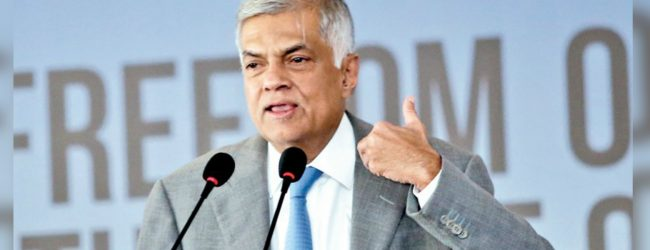 Don't give up the fight – Ranil Wickremesinghe