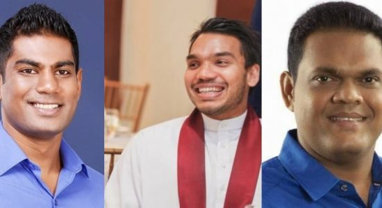 Namal Rajapaksa and several SLFP members join SLPP
