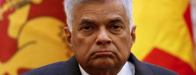 Pressure builds on RW to step down as leader of UNP