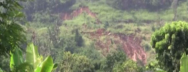 Landslide risk in Hanguranketha