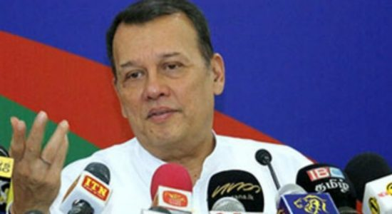 Prior notice was not given about No Confidence motion – Mahinda Samarasinghe