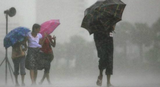 Rains of 100 mm to be expected in the North