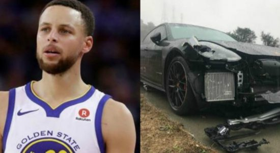 NBA star Steph Curry uninjured after car hit twice in 10 minutes