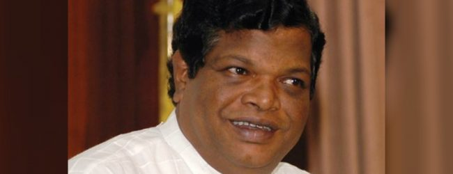 """Plans to appreciate the rupee to 160"" – Min. Bandula Gunawardena"