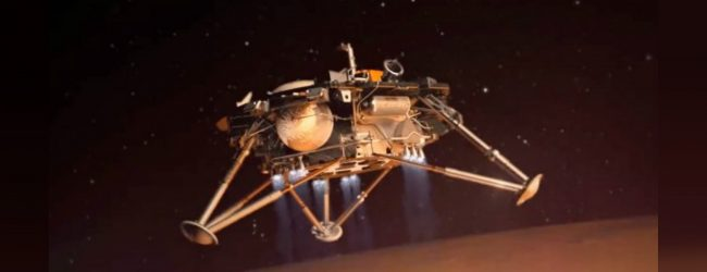 "NASA lands ""insight robot"" to study interior of Mars"