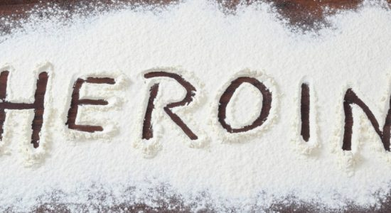 Suspect arrest with 2.55g of Heroin
