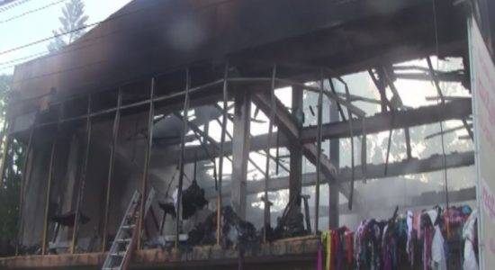 90 year old dies in Galle fire