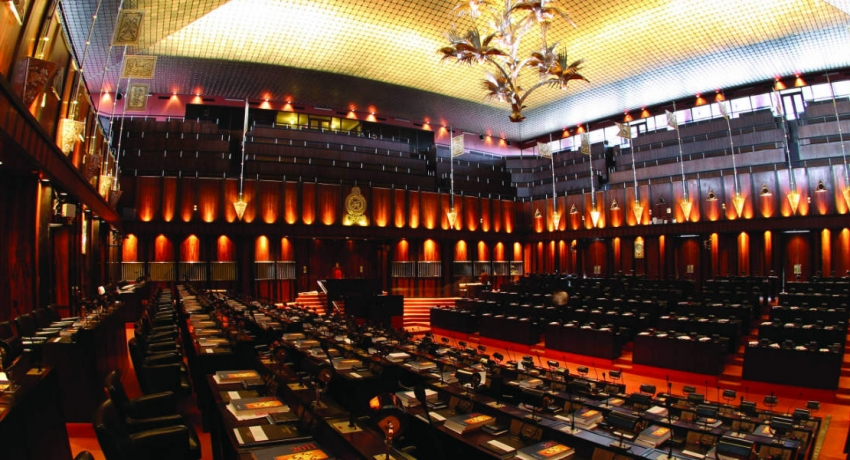 What happened in parliament today?