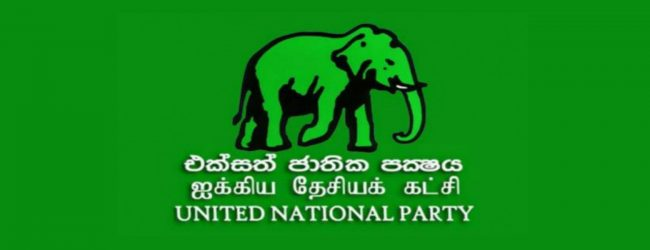UNP requests the President to act constitutionally