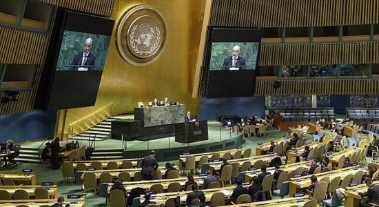 Sri Lanka abstains from backing US resolution condemning Hamas