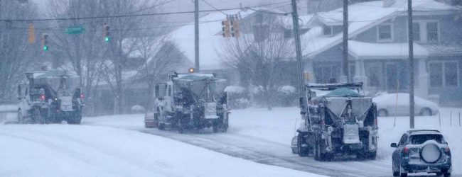 Winter storm knocks out power to 380,000 in U.S. Southeast