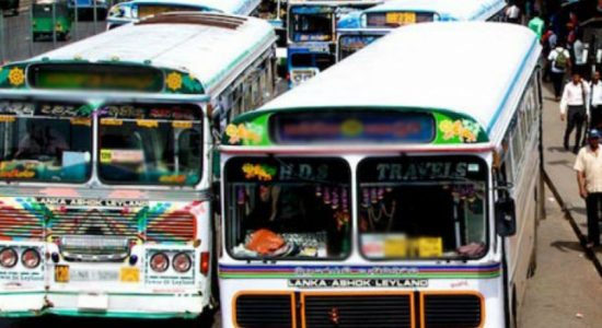 120 buses from Horana to Colombo on strike