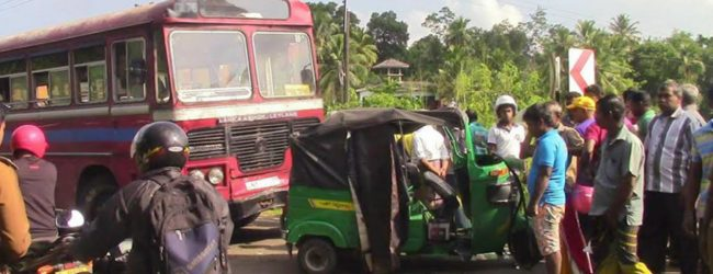 02 dead following a motor accident in Ahangama