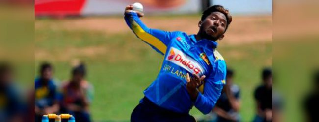 Akila Dhananjaya faces bowling suspension in International cricket