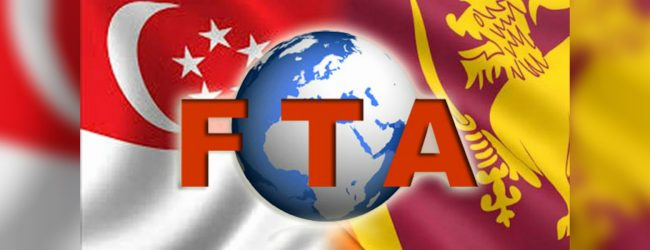 Singapore FTA temporarily suspended