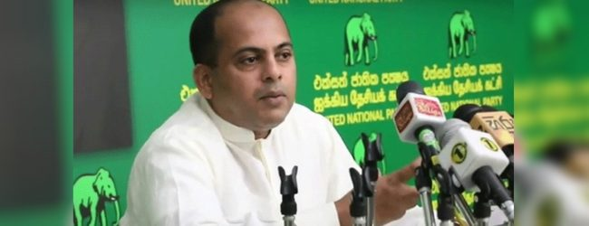 """Agreement between RW and R. Sampanthan, fake"" – Marikkar"