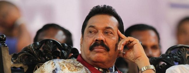 Mahinda Rajapaksa steps down as Prime Minister