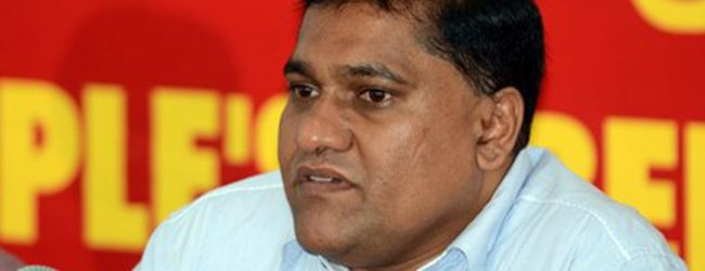 Ranil cannot sweep the bond scam under the carpet – JVP